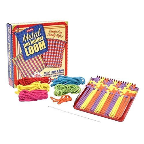 Schylling Metal Potholder Loom Set - Weaving Pot Holder Loom