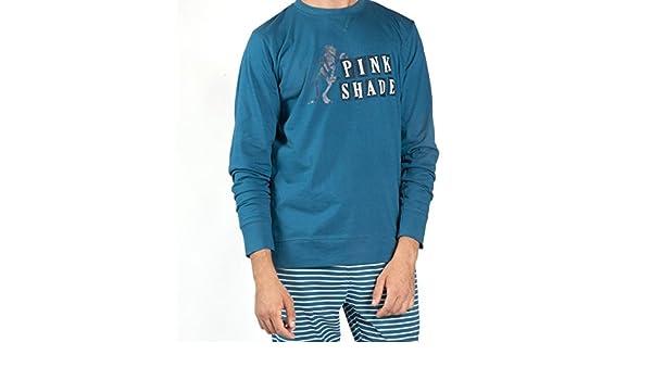 Pijama PANTERA ROSA Hombre GISELA Turquesa (S): Amazon.es: Ropa y accesorios