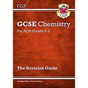 Grade 9-1 GCSE Chemistry: AQA Revision Guide with Online Edition – Higher (CGP GCSE Chemistry 9-1 Revision)Paperback – 19 May 2016