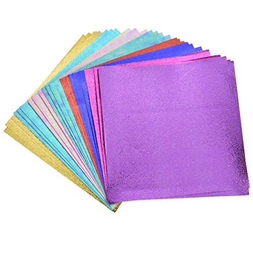 [해외](열매) Lychee 40 매 세트 종이 접기 15 * 15cm 종이 접기 공예 종이 귀여운 홀로그램 조 윤기 반짝반짝 광택 수공예 DIY 핸드메이드 간단 하 면 5 패턴 8 장 / Lychee Lychee 40 Sheets Set Origami 15 * 15cm Origami craft paper cute hologram t...