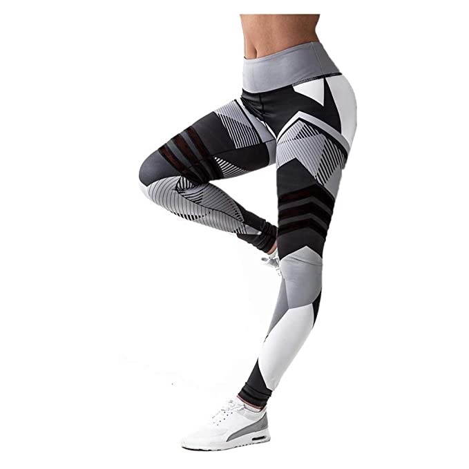 Amazon.com: E-Scenery - Pantalones de yoga para mujer ...