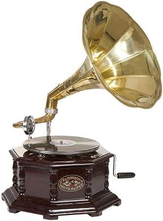 Dabudae Gramófono Octogonal latón