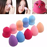 10PCS Pro Beauty Flawless Makeup Foundation Puff Multi Shape...