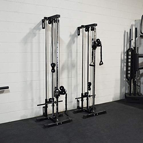 Titan Fitness Wall Mounted Pulley Tower | Tall | V2 by Titan Distributors Inc. (Image #6)
