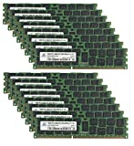 Adamanta 256GB (16x16GB) Server Memory Upgrade for Dell PowerEdge T710 DDR3 1600Mhz PC3-12800 ECC Registered 2Rx4 CL11 1.5v