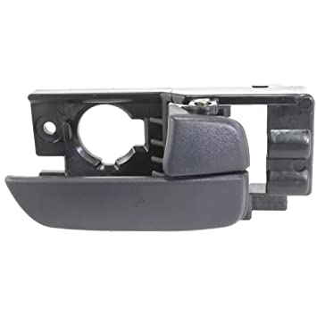Outside Door Handle Textured Black Front Passenger Side Right for 06-11 Accent
