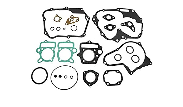 Engine Gasket Set Compatible with Honda CRF80F 93-03 XR80R Top /& Bottom End 04-12