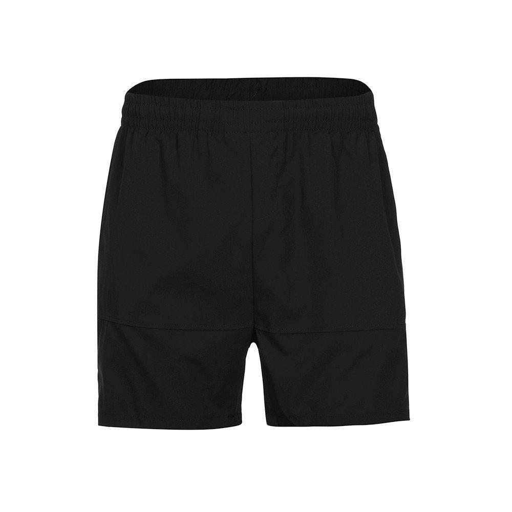 BBestseller Hombres Pantalones Cortos Casuales de Playa, Pantalones Cintura Alta Aptitud de Verano Casual Pantalones Cortos Deportivos Pantalones Elásticos ...