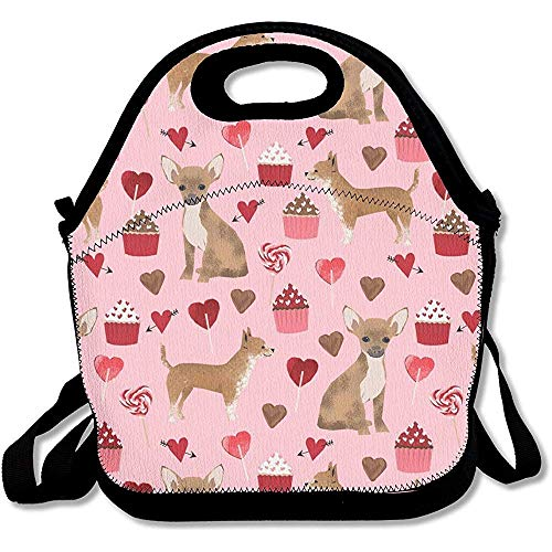 MLikdfjapf Valentines Cute Cupcakes Chihuahua Neoprene for sale  Delivered anywhere in Canada