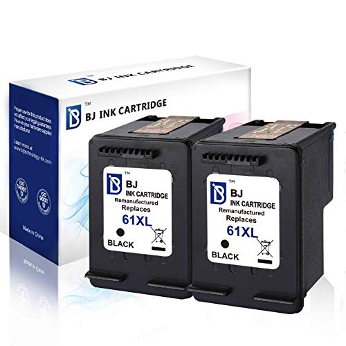- BJ Remanufactured Ink Cartridge Replacement for HP 61XL 61 XL CH563WN (2 Black) High Yield for HP Envy 4500 5530 5535 HP OfficeJet 2620 4630 4635 HP DeskJet 1000 1010 2050 2540 3000 3050 3516
