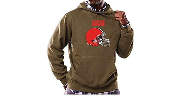 8591d20c Amazon.com : Majestic Cleveland Browns NFL Critical Victory Hooded ...