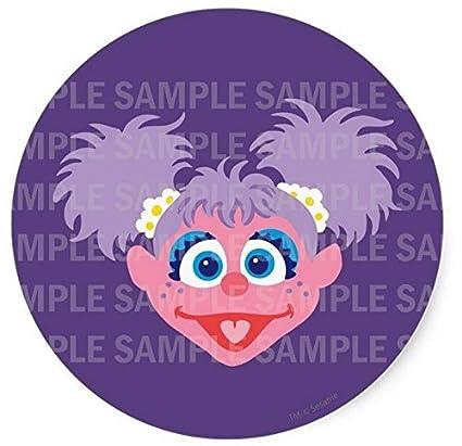 Amazon Com Sesame Street Abby Cadabby Birthday Edible Image