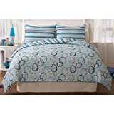 Circular Twin / Twin XL Comforter Set