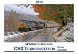 2016 CSX Transportation Color Calendar