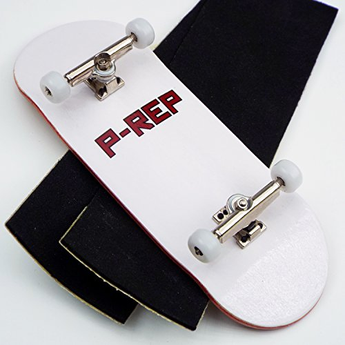 Price comparison product image P-Rep FP 34mm Complete Wooden Fingerboard w CNC Lathed Bearing Wheels …