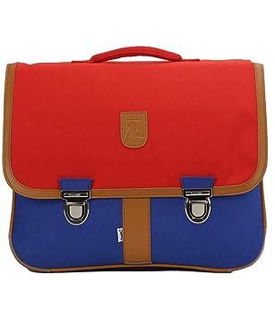 buy popular 2e1e7 82b17 Bagtrotter Cartable Miniséri 41cm Rouge Et Bleu