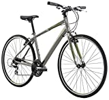 "Diamondback Bicycles 2016 Insight 1 Complete Performance Hybrid Bike, Metallic Grey, 20"" Frame"