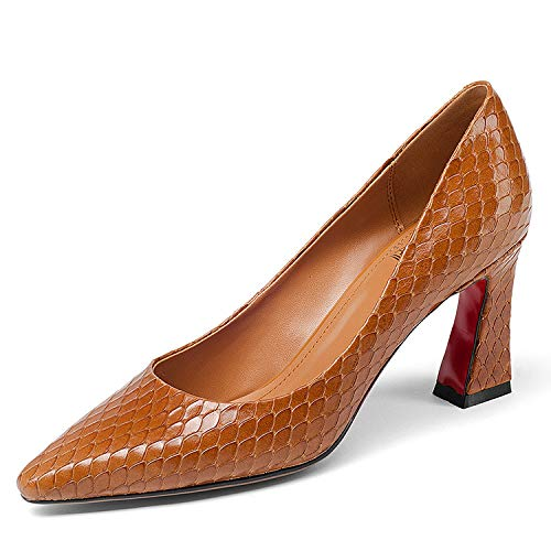 Talons Pointu Pointu à Bout Cxq Orange Bout à Chaussures Femme BSdwPZq