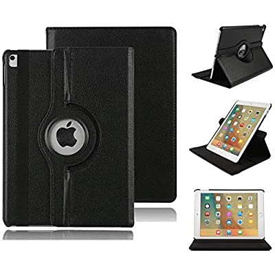 "Stand Case for iPad Pro 11""2020, SAMMID 360 Degree Rotating PU Leather Slim Fit Tablet Protector Smart Stand Feature Flip Folio Protective Case Sleeve for iPad Pro 11 2nd Generation 2020 (Black): Kitchen & Dining"