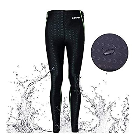 Ban Fei Mens Long Diving Leggings Dive Skin Surfing Basic Pants Swimming Trunks