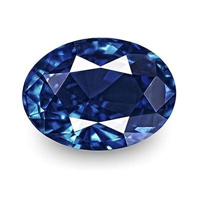 Buy Bangkok Neelam Stone Natural 8 60 Carat Blue Sapphire