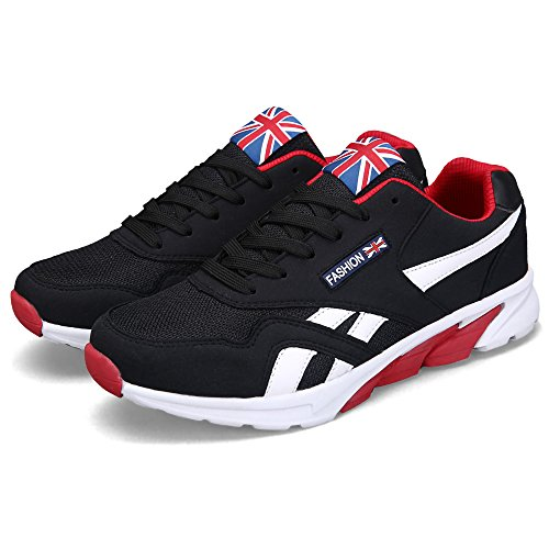 Breathable Men's JACKY'S Casual Spring Footwear Autumn Hombre 2 Zapatillas Flats Black Tt1A7qAwx