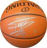 Tracy McGrady Signed Spalding NBA Indoor/Outdoor Basketball #1 (silver sig) (Raptors/Magic/Rockets)