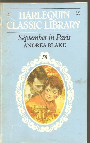September in Paris (Harlequin Classic Library, 58)