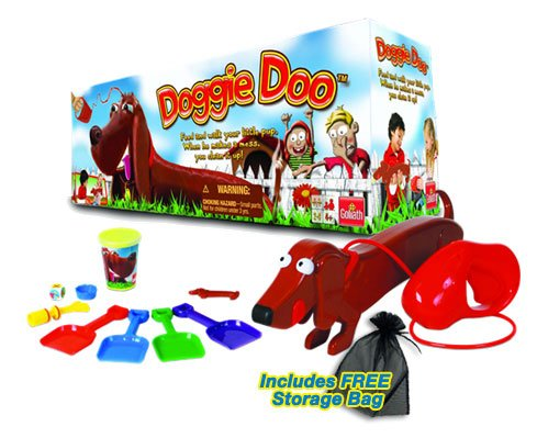 Doo Doggie Game (Doggie Doo Board Game with Free Storage Bag)