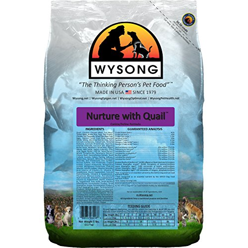 Wysong Nurture With Quail Canine/Feline Formula Dog/Cat Food – 5 Pound Bag For Sale
