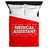 CafePress - Medical Assistant - Queen Duvet Cover, Printed Comforter Cover, Unique Bedding, Microfiber