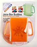 Baby : Mommys Helper Juice Box Buddies Holder for Juice Bags and Boxes - Colors May Vary - 4 Count