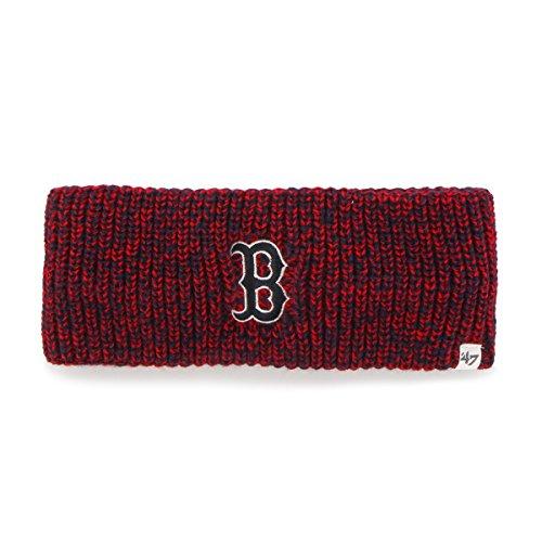 (MLB Boston Red Sox Women's '47 Prima Twisted Headband, Light Navy)