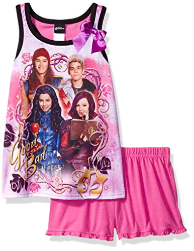 Disney Little Girls' Descendants 2pc Pajama Tank Set, Assorted, 4