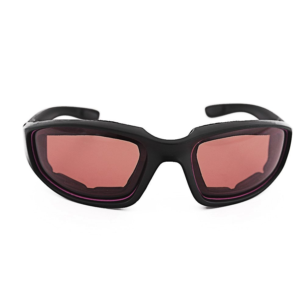 ec54c12f20 ... 3 Pair Motorcycle Riding Glasses Padding Goggles UV Protection  Dustproof Windproof Motorcycle Sunglasses with Clear