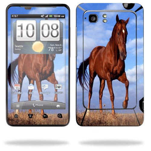 Mightyskins Protective Vinyl Skin Decal Cover for HTC Vivid 4G PH39100 B AT&T Cell Phone wrap sticker skins Horse (Cover Htc Ph39100)