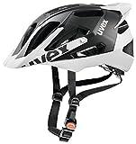 2014 Uvex Mens Quatro PRO Helmet Black / White L/XL 56-61cm
