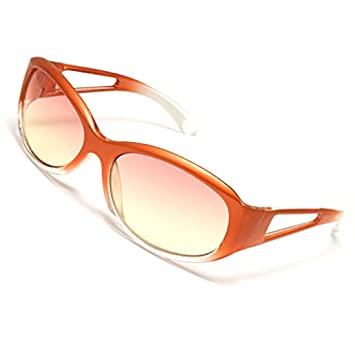 Deal MUX Trendy Marco de plástico Mujer Deportes Gafas ...
