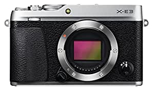 Fujifilm X-E3 Mirrorless Digital Camera (Body Only) - Silver