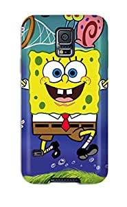 Fashionable Style Case Cover Skin For Galaxy S5- Spongebob