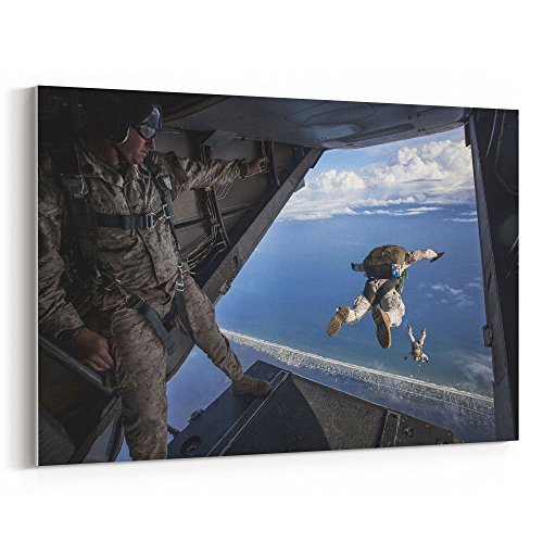 Westlake Art - Military Soldier - 24x36 Canvas Print Wall Ar