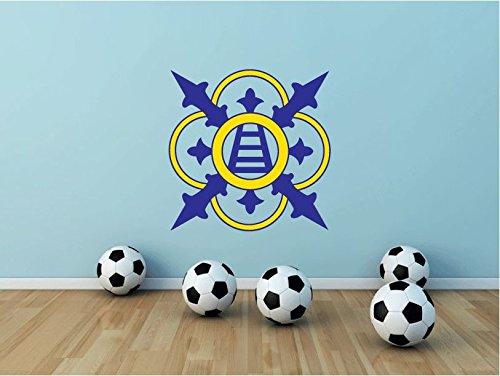 Chievo Verona Retro Italy Soccer Football Sport Art Wall Decor Sticker 22'' X 22'' by postteam