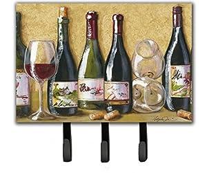 Caroline's Treasures TMTR0271TH68 Wine Du Vin by Malenda Trick Leash or Key Holder, Large, Multicolor