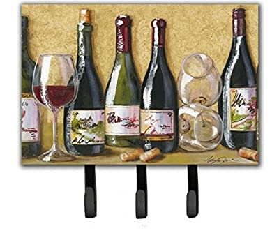 Caroline's Treasures TMTR0271TH68 Wine Du Vin by Malenda Trick Leash or Key Holder, Large, Multicolor