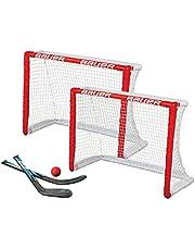 Bauer Rodilla Hockey Meta 2er Juego 30.5' - 2 Tore, 2 Ministicks & 1 Espuma Bola