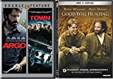 Good Will Hunting & The Town + Argo Ben Affleck Movie Set Bundle