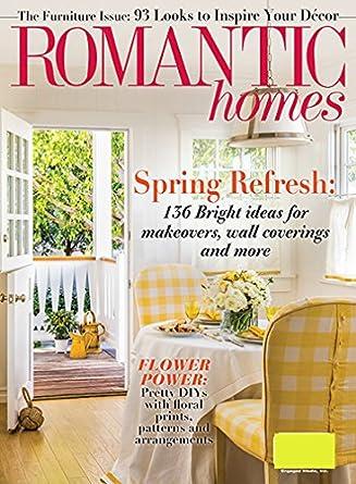 romantic homes amazon com magazines