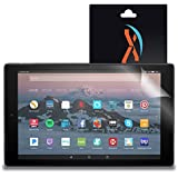 XShields High Definition (HD+) Screen Protectors for Amazon Fire HD 10 (2017) (Maximum Clarity) Super Easy Installation [2-Pack], Advanced Touchscreen Accuracy