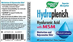 Nature\'s Way Hydraplenish with MSM, 60 Vcaps