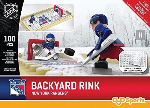 fan products of NHL New York Rangers Backyard Rink Set, Small, Black